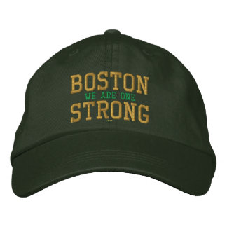 Boston Strong We Are One Embroidered Cap Baseball Cap
