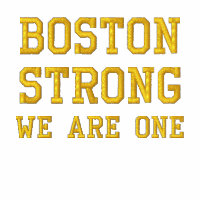 Boston Strong WE ARE ONE Polos