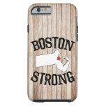 Boston Strong Wood Grain Tough iPhone 6 Case