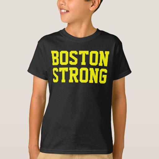 Boston strong yellow black t shirt zazzle for Boston strong marathon t shirts