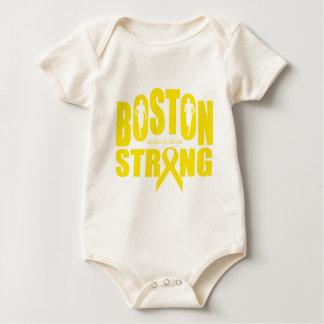 Boston strong yellow ribbon baby bodysuit
