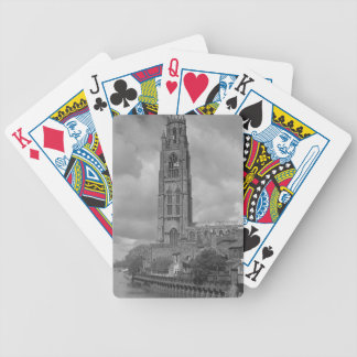 Boston Stump and River Welland, Lincolnshire Bicycle Playing Cards