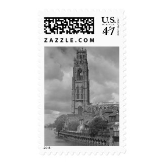 Boston Stump and River Welland, Lincolnshire Stamp