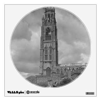 Boston Stump and River Welland, Lincolnshire Wall Decal
