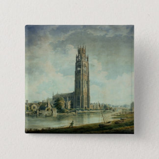 Boston Stump: view from the South-west Pinback Button