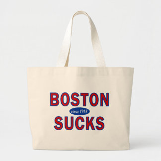 BOSTON SUCKS 1918 TOTE BAG
