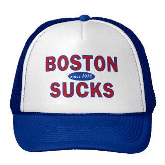 BOSTON SUCKS 1918 HATS