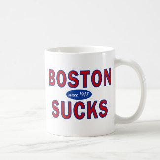 BOSTON SUCKS 1918 COFFEE MUG