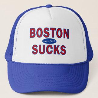 BOSTON SUCKS 1918 TRUCKER HAT