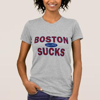 BOSTON SUCKS 1918 T SHIRT