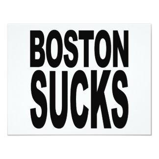 Boston Sucks Card