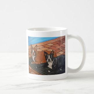 Boston Sunbathing Coffee Mug