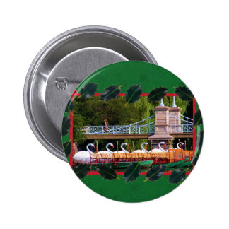 Boston Swan Boats- Boston Public Garden Pinback Button