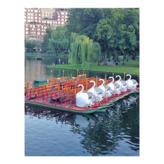 Boston Swan Boats Letterhead