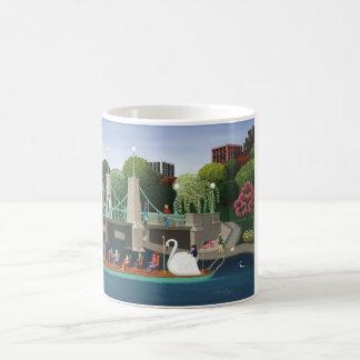 Boston Swan Boats Classic White Coffee Mug