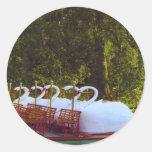 Boston Swan Boats Sticker