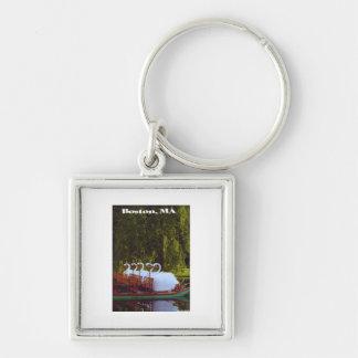 Boston Swan Boats - Summer Keychain