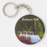 Boston Swan Boats - Summer Keychains