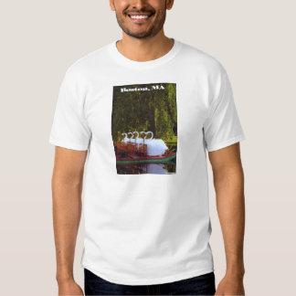 Boston Swan Boats - Summer T-Shirt