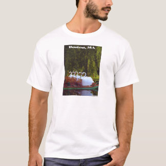 Boston Swan Boats - Summer T-Shirt