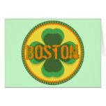 Boston T-shirts and Gifts Greeting Card