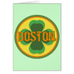 Boston T-shirts and Gifts Greeting Cards