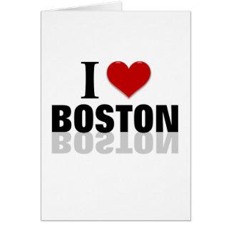 Boston Tarjeta De Felicitación