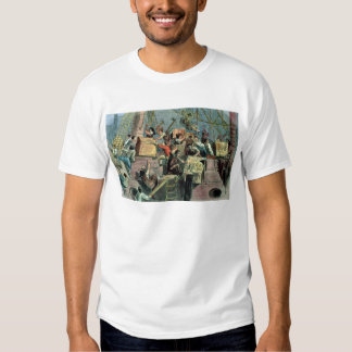 Boston Tea Party, 16th December 1773 Tee Shirts