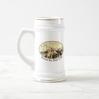Boston Tea Party 1773 mug