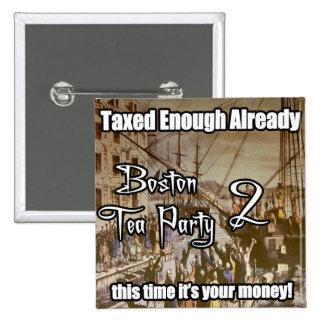 Boston Tea Party 2 Pinback Button