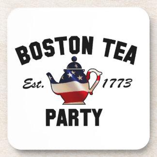 Boston Tea Party Beverage Coaster