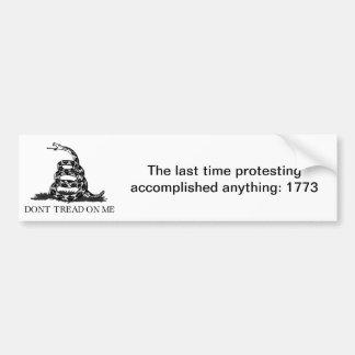 Boston Tea Party Bumper Sticker
