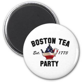 Boston Tea Party - Est. 1773 2 Inch Round Magnet
