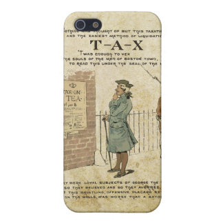 Boston tea Party Independence Day iPhone SE/5/5s Cover