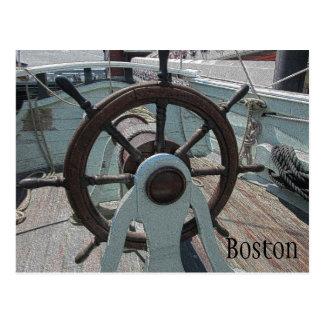 Boston Tea Party Ship Postcard