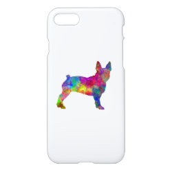iPhone 7 Case with Boston Terrier Phone Cases design