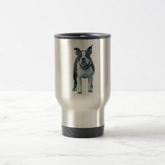 Boston terrier  1b travel mug