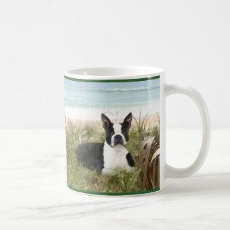 Boston Terrier Adore Mug Beachgrass