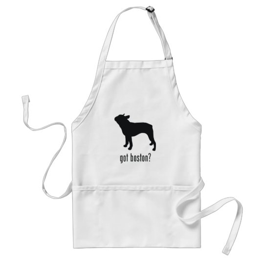 Boston Terrier Adult Apron