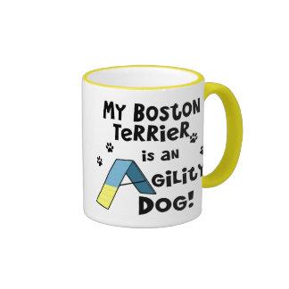 Boston Terrier Agility Dog Mug