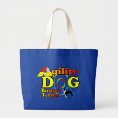 Boston Terrier Agility Gifts bag
