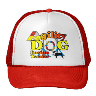 Boston Terrier Agility Gifts Hats