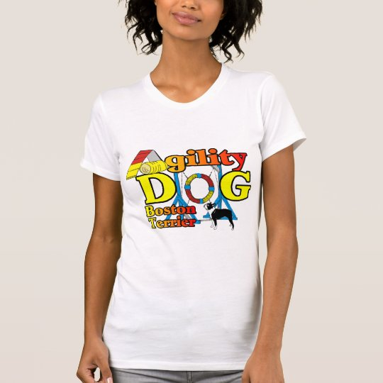 Boston Terrier Agility Gifts T-Shirt