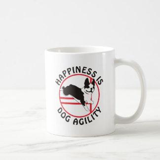 Boston Terrier Agility Happiness Coffee Mug