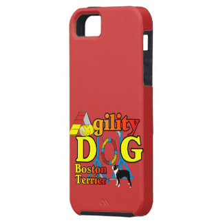 Boston Terrier Agility iPhone SE/5/5s Case