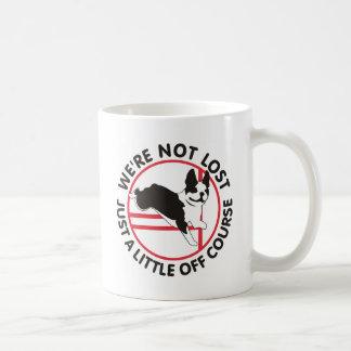 Boston Terrier Agility Off Course Mugs