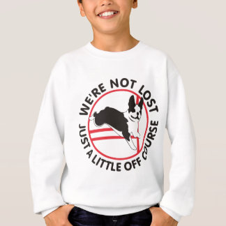Boston Terrier Agility Off Course Sweatshirt