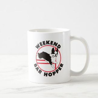 Boston Terrier Agility Weekend Bar Hopper Mug