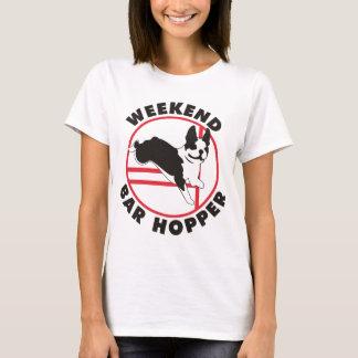 Boston Terrier Agility Weekend Bar Hopper T-Shirt