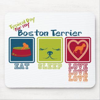 Boston Terrier Alfombrilla De Ratones
